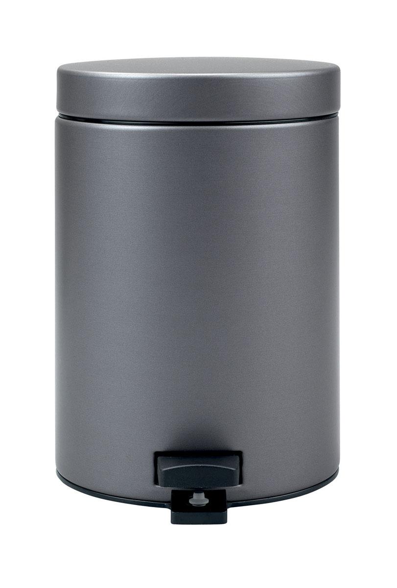 Ведро для мусора Brabantia Classic, с педалью, цвет: платиновый, 3 л477362-BRВедро для мусора Brabantia Classic, выполненное из стали и пластика, обеспечит долгий срок службы и легкую чистку. Ведро оснащено педалью, с помощью которой можно открывать крышку. Пластиковая основа ведра предотвращает повреждение пола. Благодаря специальной липучке на педали ведро будет надежно зафиксировано. Внутренняя часть - пластиковое ведерко, которое легко можно вынуть. В комплект входят пакеты для ведра. Ведро Brabantia Classic поможет вам держать мусор в порядке и предотвратит распространение неприятного запаха. Диаметр ведра: 16,5 см. Высота ведра: 25 см.