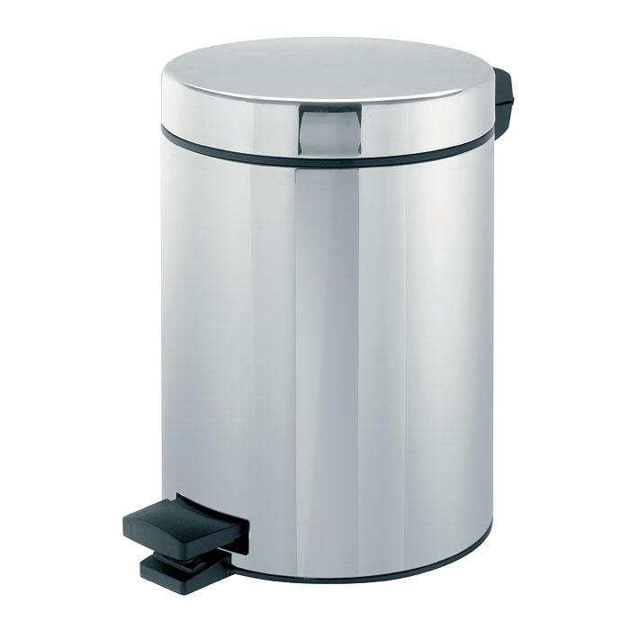Ведро для мусора Brabantia, с педалью, 5 л. 389146-BR389146-BRВедро для мусора Brabantia, выполненное из стали и пластика, обеспечит долгий срок службы и легкую чистку. Ведро оснащено педалью, с помощью которой можно открывать крышку. Пластиковая основа ведра предотвращает повреждение пола. Внутренняя часть - пластиковое ведерко с металлической ручкой, которое легко можно вынуть. В комплект входят пакеты для ведра. Ведро Brabantia поможет вам держать мусор в порядке и предотвратит распространение неприятного запаха. Диаметр ведра: 20 см. Высота ведра: 28 см. Объем: 5 л.