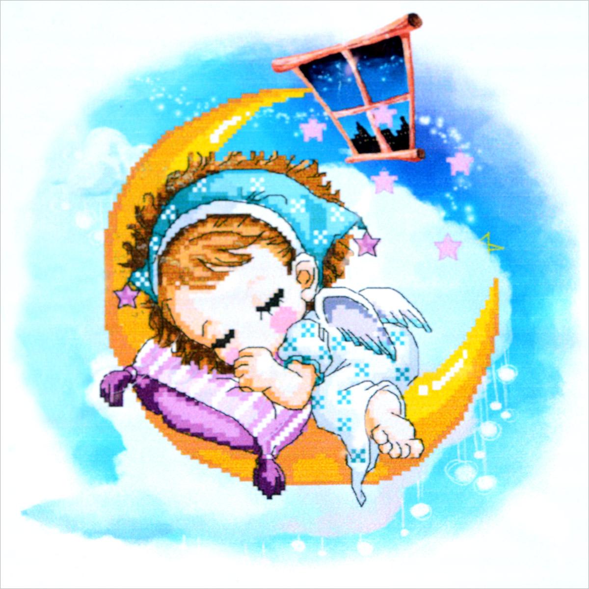 Набор для изготовления картины со стразами Cristal Спящий ангел, 51 х 51 см7710772.8256Набор для изготовления картины со стразами Cristal Спящий ангел поможет вам создать свой личный шедевр. Работа, выполненная своими руками, станет отличным подарком для друзей и близких! Набор содержит: - полотно-схема с нанесенным рисунком и клеевым слоем (размер 51 см х 51 см), - пластиковое блюдце; - стразы (23 цвета), - клей для страз; - карандаш; - точилка; - пинцет; - 2 ватные палочки; - 2 маленьких пакетика; - инструкция на русском языке. Подарите близким тепло ваших рук!