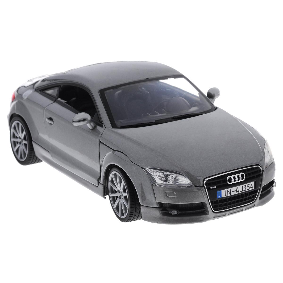 MotorMax Модель автомобиля Audi TT Coupe цвет серый