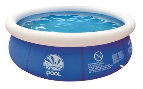 """Бассейн надувной Jilong """"Prompt"""", цвет: голубой, 360 см х 79 см"""