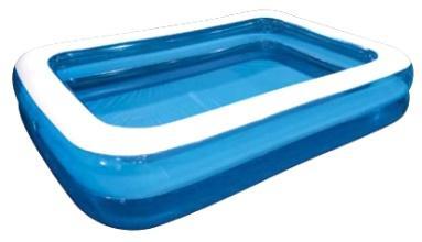 "Бассейн надувной JILONG ""GIANT"", 200х150х50см, возраст 6+, цвет: голубой"