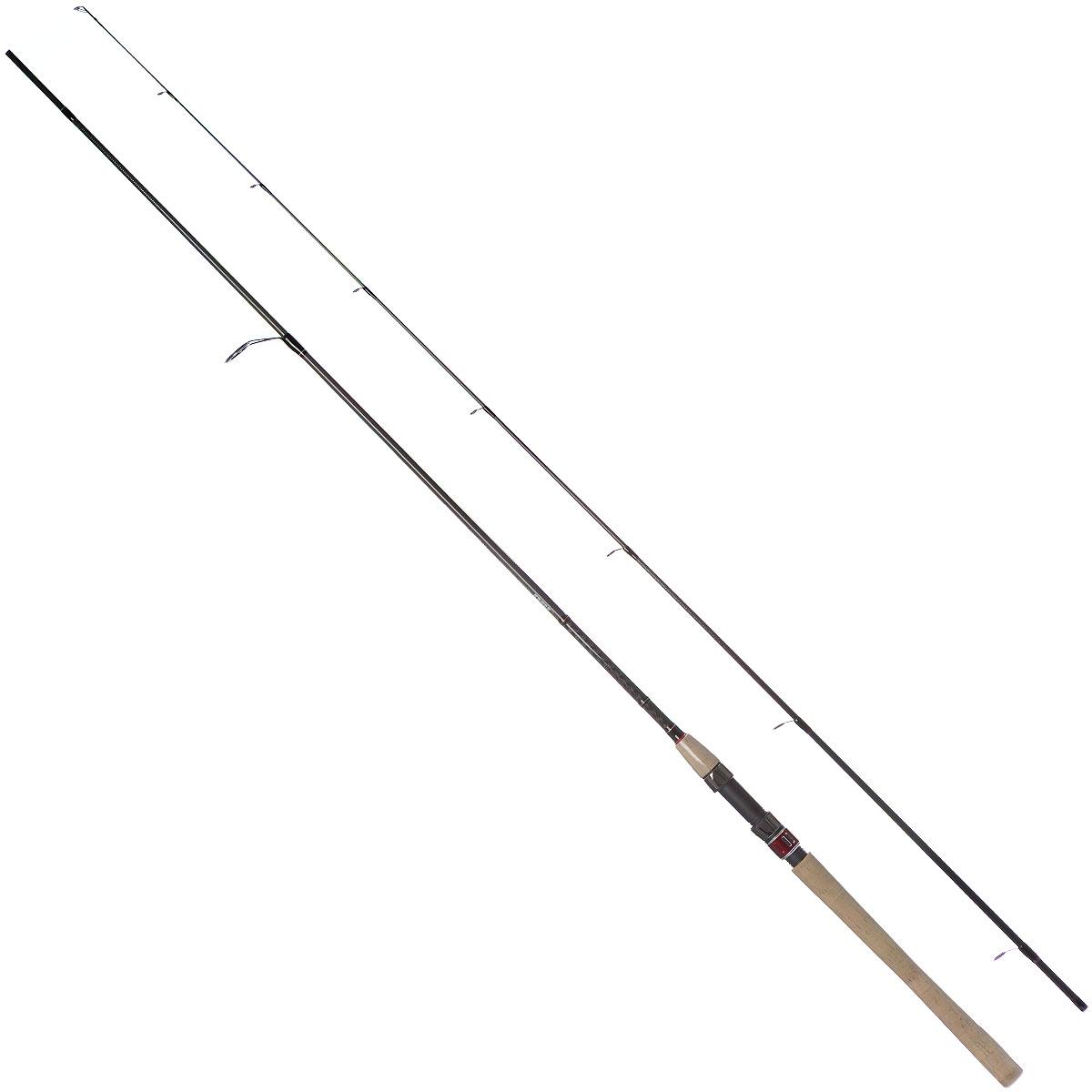 Удилище спиннинговое Daiwa Procaster Jigger, штекерное, 2,7 м, 7-28 г0049552Спиннинг штекерный Daiwa Procaster Jigger представляет собой классическое удилище для ловли на маленькие мягкие приманки, твистеры и джиги. Спиннинг оснащен 30 мм стартовым кольцом на одной лапке и пробковой рукоятью. Длина: 2,7 м. Тест: 7-28 г.