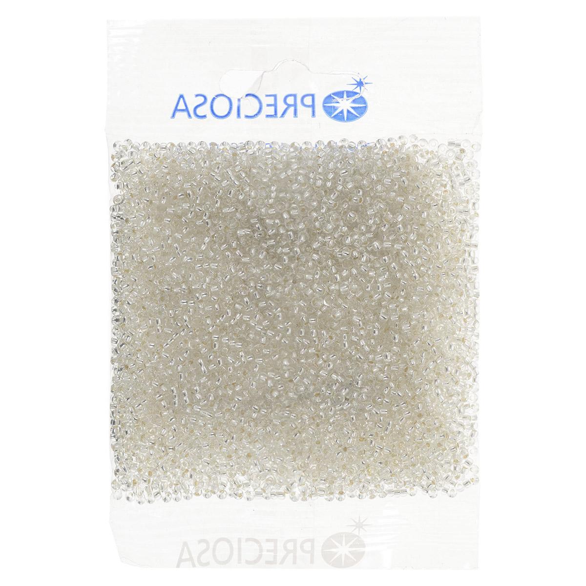 Бисер Preciosa, с серебристым центром, цвет: прозрачный (78102), размер 10/0, 50 г7702946Прозрачный бисер Preciosa, изготовленный из стекла круглой формы с серебристым центром, позволит вам своими руками создать оригинальные ожерелья, бусы или браслеты, а также заняться вышиванием. В бисероплетении часто используют бисер разных размеров и цветов. Он идеально подойдет для вышивания на предметах быта и женской одежде. Изготовление украшений - занимательное хобби и реализация творческих способностей рукодельницы, это возможность создания неповторимого индивидуального подарка. Размер бисера: 10/0.