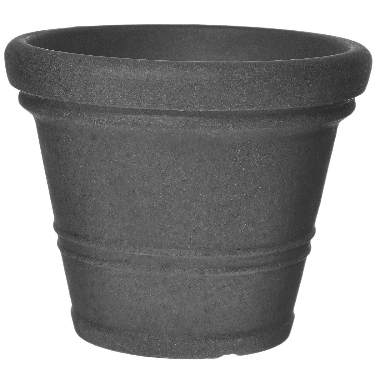 Кашпо для цветов Scheurich, цвет: серый, диаметр 45 см53395SКашпо для цветов Scheurich выполнено из прочного пластика. Изделие предназначено для установки внутрь цветочных горшков с растениями. Такие изделия часто становятся последним штрихом, который совершенно изменяет интерьер помещения или ландшафтный дизайн сада. Благодаря такому кашпо вы сможете украсить вашу комнату, офис, сад и другие места. Диаметр: 45 см.
