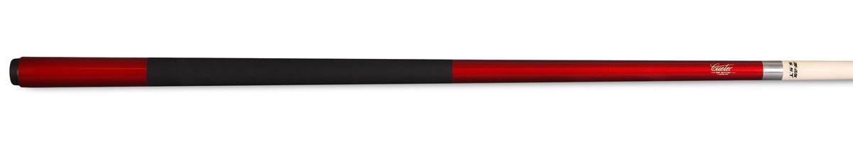 Кий для пула Cuetec Veltex, цельный, цвет: красный04604Со временем даже самые дорогие кии могут разрушаться под воздействием атмосферы. Стекловолоконное покрытие киев Cuetec полностью защищает деревянную сердцевину, исключая влияние изменений температуры и влажности. Кроме того, оно обеспечивает устойчивость кия к повреждениям от ударов, к выбоинам, царапинам и придает ему особую прочность. Кии Cuetec требуют меньшего ухода, чем обычные кии. Чаще всего достаточно провести по их поверхности слегка смоченной мягкой тканью или бумажным полотенцем, чтобы полностью очистить кий. Ткань, которая идеально подходит для чистки кия Cuetec - это ткань, применяемая для протирания очков. Материал: канадский клен. Материал стакана: поликарбонат. Высота стакана: 25 мм. Покрытие шафта: стекловолокно с обработкой TRU-GLIDE. Диаметр наклейки: 13 мм. Диаметр турняка: 31 мм. Обмотка: Veltex. Вид бильярда: пул.
