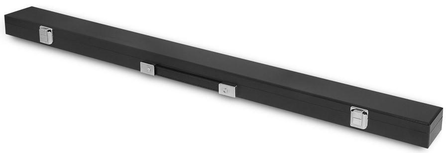 Кейс для киев Fortuna Classic Eco, 1 x 1, цвет: черный02129Кейс Fortuna Classic Eco предназначен для хранения и переноски одного разборного кия и защищает его от внешнего воздействия, что позволяет сохранить ваш кий в идеальном состоянии. Оснащен надежной ручкой для переноски. Применимость для киев: универсальный размер. Вид кия: двухсоставной: Отделения для шафта: 1. Отделения для турняка: 1. Отделения для удлинителя: нет. Ручка для переноски: есть. Наплечный ремень: нет Длина отделения для кия: 88 см. Форма конструкции: CS.