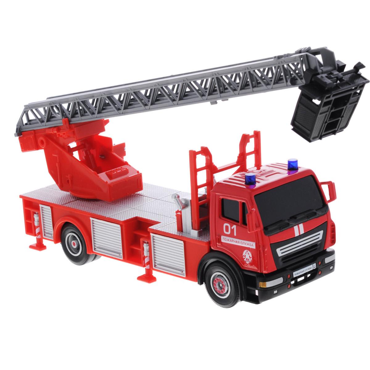 ТехноПарк Машинка Пожарная службаSB290-064Машинка Технопарк Пожарная служба, выполненная из металла и безопасного пластика, станет любимой игрушкой вашего малыша. Машинка представляет собой миниатюрную копию настоящей пожарной машины. Лестница на крыше машины поднимается и раздвигается, подъемный механизм вращается. Ваш ребенок будет часами играть с этой машинкой, придумывая различные истории. Порадуйте его таким замечательным подарком!