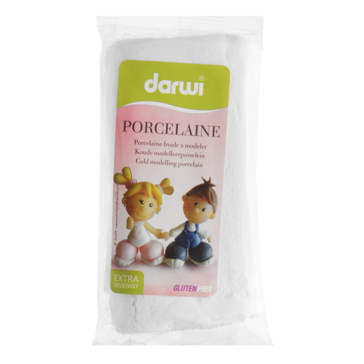 Масса для лепки Darwi Porcelaine, цвет: белый (027), 150 г357002_027Масса Darwi Porcelaine - это самозатвердевающая полимерная глина, предназначенная для лепки. Уже готова к использованию. После полного высыхания (от нескольких часов до нескольких дней в зависимости от размера работы) масса становится очень твердой и дает небольшую усадку. Влагоустойчива при высыхании. После отверждения можно покрывать лаком, красками. Не рекомендуется давать детям до 3-х лет. Транспортировка и хранение массы возможно при температуре 5-25°С. Материал: полимерная глина. Вес: 150 г.