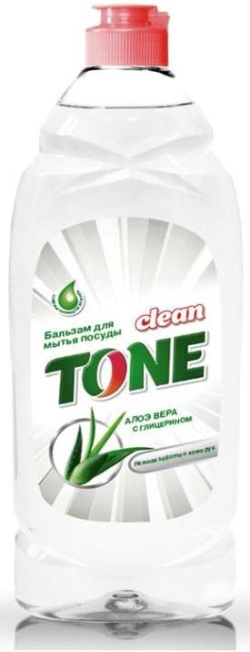 Бальзам для мытья посуды Clean Tone Алоэ вера, с глицерином, 675 мл1842Бальзам Clean Tone Алоэ вера предназначен для мытья всех видов посуды. Преимущества бальзама Clean Tone: - эффективно удаляет жир в горячей и холодной воде - благодаря содержанию глицерина и натурального экстракта алоэ вера бережно заботится о коже рук - отлично пенится и легко смывается водой, не оставляя разводов - имеет приятный аромат алоэ вера. Объем: 675 мл. Состав: 30% и более - вода питьевая очищенная; 5% или более, но менее 15% - анионные ПАВ; менее 5% - хлорид натрия, амфотерные ПАВ, неионогенные ПАВ, экстракт алоэ вера пропиленгликолевый, глицерин, перламутровый концентрат, отдушка, консервант, лимонная кислота, комплексообразователь.