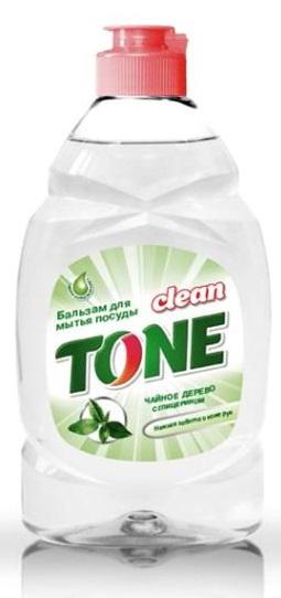 Бальзам для мытья посуды Clean Tone Чайное дерево, с глицерином, 450 мл1805Бальзам Clean Tone Чайное дерево предназначен для мытья всех видов посуды. Преимущества бальзама Clean Tone: - эффективно удаляет жир в горячей и холодной воде - благодаря содержанию глицерина и натурального экстракта чайного дерева бережно заботится о коже рук - отлично пенится и легко смывается водой, не оставляя разводов - имеет приятный аромат чайного дерева. Объем: 450 мл. Состав: 30% и более - вода питьевая очищенная; 5% или более, но менее 15% - анионные ПАВ; менее 5% - хлорид натрия, амфотерные ПАВ, неионогенные ПАВ, экстракт чайного дерева пропиленгликолевый, глицерин, перламутровый концентрат, отдушка, консервант, лимонная кислота, комплексообразователь.