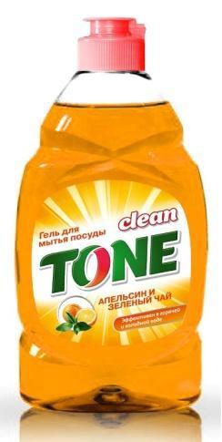 Гель для мытья посуды Clean Tone Апельсин и зеленый чай, 450 мл1861Гель Clean Tone Апельсин и зеленый чай предназначен для мытья всех видов посуды. Преимущества геля Clean Tone: - эффективно удаляет жир в горячей и холодной воде - отлично пенится и легко смывается водой, не оставляя разводов - не раздражает кожу рук - имеет сладкий аромат апельсина и зеленого чая. Объем: 450 мл. Состав: 30% и более - вода питьевая очищенная; 5% или более, но менее 15% - анионные ПАВ; менее 5% - хлорид натрия, неионогенные ПАВ, отдушка, консервант, лимонная кислота, краситель Е110.