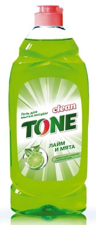 Гель для мытья посуды Clean Tone Лайм и мята, 675 мл1851Гель Clean Tone Лайм и мята предназначен для мытья всех видов посуды. Преимущества геля Clean Tone: - эффективно удаляет жир в горячей и холодной воде - отлично пенится и легко смывается водой, не оставляя разводов - не раздражает кожу рук - имеет приятный аромат лайма и мяты. Объем: 675 мл. Состав: 30% и более - вода питьевая очищенная; 5% или более, но менее 15% - анионные ПАВ; менее 5% - хлорид натрия, неионогенные ПАВ, отдушка, консервант, лимонная кислота, комплексообразователь, краситель Е102, Е133.