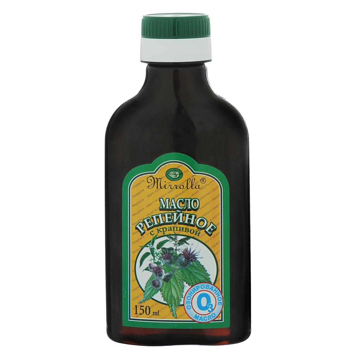 Мирролла Репейное масло с крапивой, озонированное, 150 мл