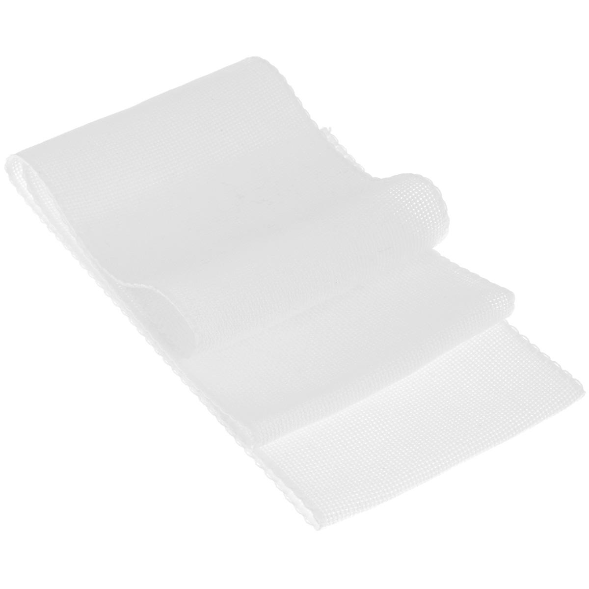 Основа для вышивания крестом или гладью Vaupel & Heilenbeck Aida 16, цвет: белый, 12 х 100 см510-120-1Основа Vaupel & Heilenbeck Aida 16 представляет собой канву для вышивания крестом или гладью, выполненную из 100% хлопка. Канву также можно использовать для других видов счетной вышивки. Изделие оформлено каймой. Вышитые работы используются в качестве украшения-бордюра для одежды, полотенец, наволочек, штор и прочих предметов интерьера. Канва, украшенная своими руками, дополнит интерьер любого помещения, а также сможет стать изысканным подарком для ваших друзей и близких. Выдерживает стирку при температуре 40°С.