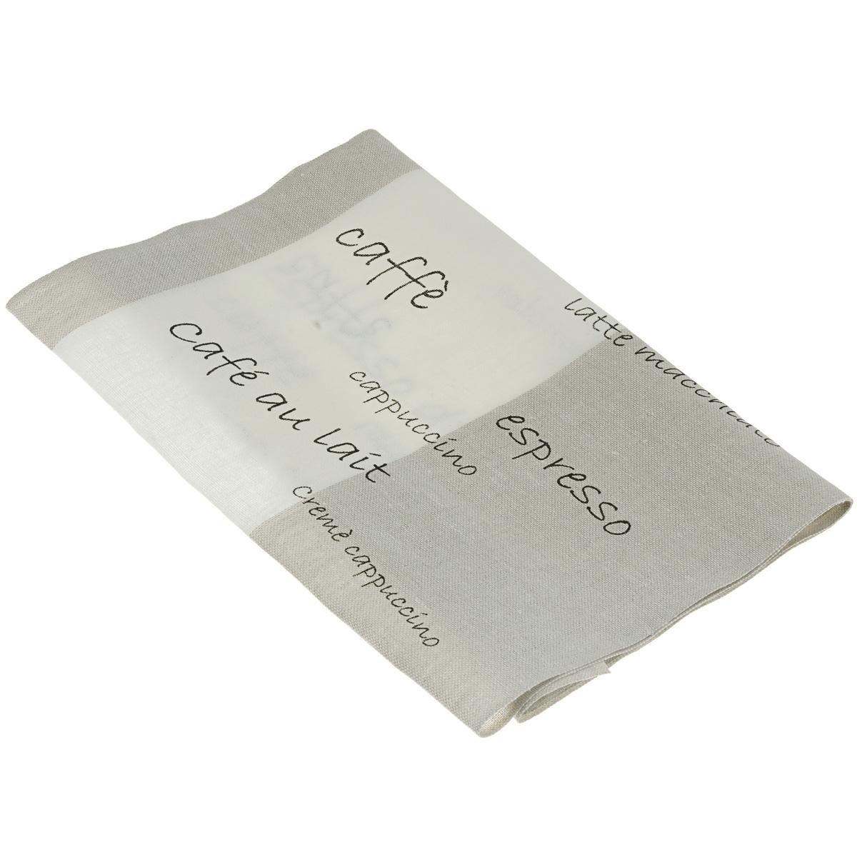 Основа для вышивания крестом или гладью Schaefer, с рисунком, цвет: льняной, черный, белый, 34 см х 100 см7035-340-1Основа для вышивания крестом или гладью Schaefer представляет собой 11-ти ниточную дорожку, выполненную из 100% льна. Изделие декорировано иностранными словами, обозначающими разные виды кофе. Воплотите свои идеи на этой основе для вышивания! Дорожка, украшенная своими руками, дополнит интерьер любого помещения, а также сможет стать изысканным подарком для ваших друзей и близких.