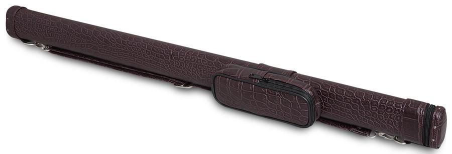 Тубус для киев Fortuna Action TR, цвет: бордовый, 87 см05828Тубус Fortuna Action TR предназначен для хранения и переноски одного разборного кия и защищает его от внешнего воздействия, что позволяет сохранить ваш кий в идеальном состоянии. В конструкции тубуса предусмотрен перемещаемый несъемный карман для мелких аксессуаров (мелки, перчатка, инструменты). Оснащен надежным ремнем для переноски. Длина отделения для кия: 87 см; Длина кармана: 18 см; Форма конструкции: AA.