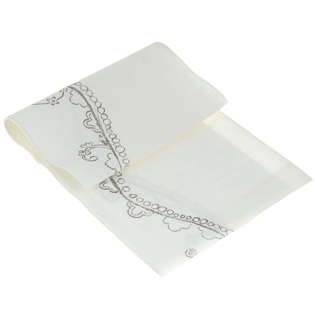 Основа для вышивания крестом или гладью Vaupel & Heilenbeck, с рисунком, цвет: белый, черный, 24 см х 100 см7043-240-90028Основа для вышивания крестом или гладью Vaupel & Heilenbeck представляет собой 11-ти ниточную дорожку, выполненную из 100% льна. Изделие декорировано красивым узором. Воплотите свои идеи на этой основе для вышивания! Дорожка, украшенная своими руками, дополнит интерьер любого помещения, а также сможет стать изысканным подарком для ваших друзей и близких.