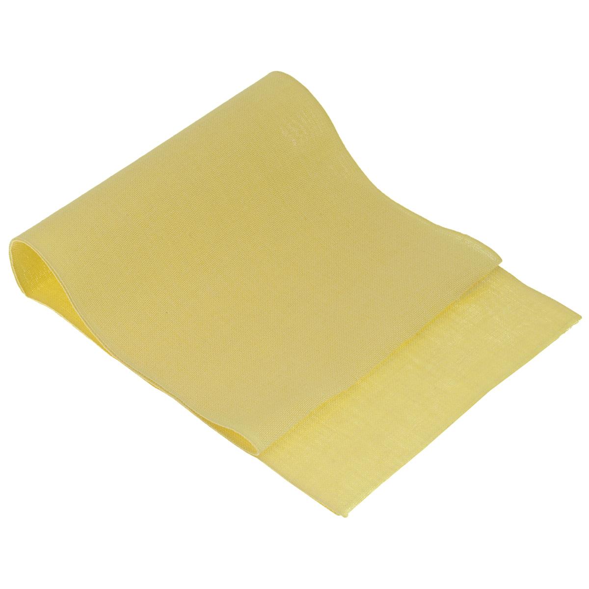 Основа для вышивания крестом или гладью Vaupel & Heilenbeck, цвет: желтый, 40 х 100 см210-400Основа для вышивания крестом или гладью Vaupel & Heilenbeck представляет собой однотонную 11-ти ниточную дорожку, выполненную из 100% льна. Воплотите свои идеи на этой дорожке! Дорожка, украшенная своими руками, дополнит интерьер любого помещения, а также сможет стать изысканным подарком для ваших друзей и близких.