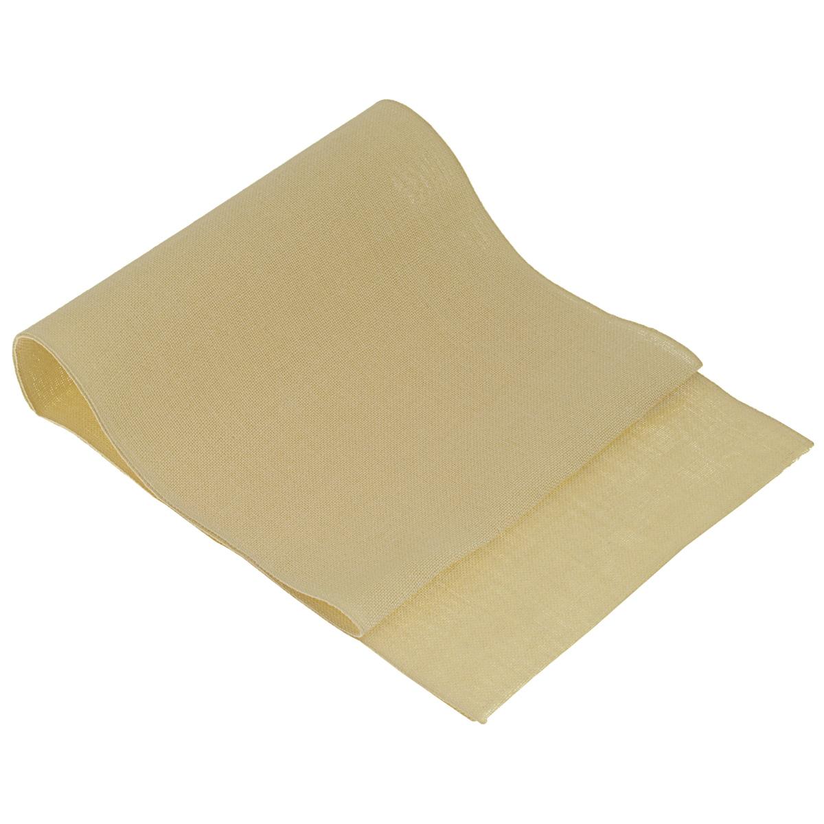 Основа для вышивания крестом или гладью Vaupel & Heilenbeck, цвет: песочный, 40 см х 100 см226-400Основа для вышивания крестом или гладью Vaupel & Heilenbeck представляет собой однотонную 11-ти ниточную дорожку, выполненную из 100% льна. Воплотите свои идеи на этой дорожке! Дорожка, украшенная своими руками, дополнит интерьер любого помещения, а также сможет стать изысканным подарком для ваших друзей и близких.
