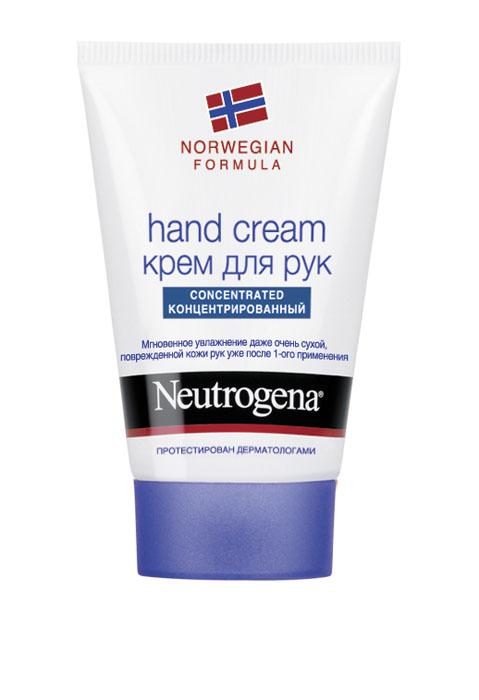 Крем для рук Neutrogena, с запахом, 50 мл35568/25845Крем Neutrogena великолепно увлажняет руки благодаря рекордно высокому содержанию глицерина на уровне 40%. Клинические исследования подтверждают, что крем мгновенно помогает сухой, очень сухой и поврежденной коже рук. Заметно улучшает внешний вид кожи, восстанавливает ее защитный барьер. Благодаря концентрированной формуле небольшого количества крема достаточно, чтобы кожа рук стала мягче уже с первого применения.