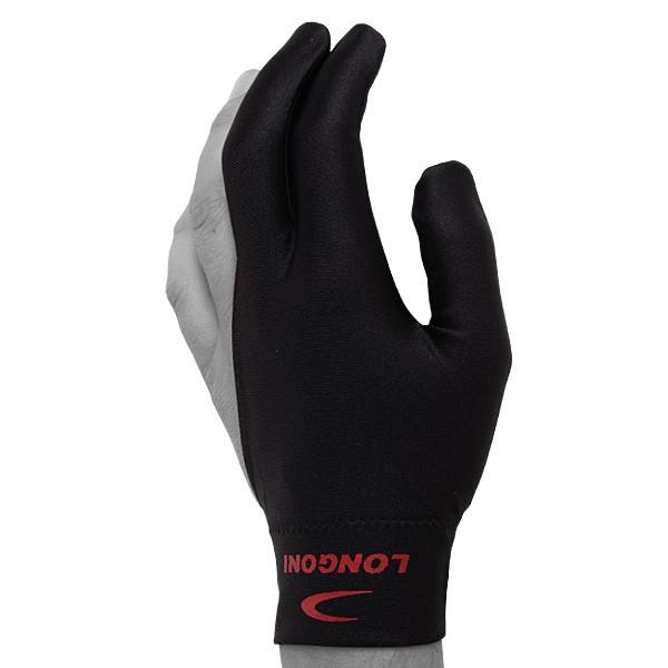 Перчатка для бильярда Longoni Velcro, безразмерная, цвет: черный03211Бильярдная перчатка Longoni Velcro гарантирует хорошее скольжение кия по руке. При этом вам не придется использовать тальк для рук. Выполнена из эластичного материала. Перчатка оснащена застежкой Velcro, благодаря чему она крепко сидит на руке. Надевается на левую руку. Продукция под маркой Longoni пользуется неослабевающей популярностью с середины ХХ века. Это один из самых известных и уважаемых бильярдных брендов в мире. Алессандро Лонгони, основатель компании, избран в Международный зал славы изготовителей бильярдных киев. Компания активно поддерживает бильярдный спорт. В России проводится Открытый Кубок Longoni-Rossa по русской пирамиде. В Европе Longoni спонсирует профессиональных игроков в карамболь. Чемпион Европы по пулу, победитель Евротура, обладатель Кубка Москони Нильс Файен из Нидерландов также выступает под эгидой марки Longoni.