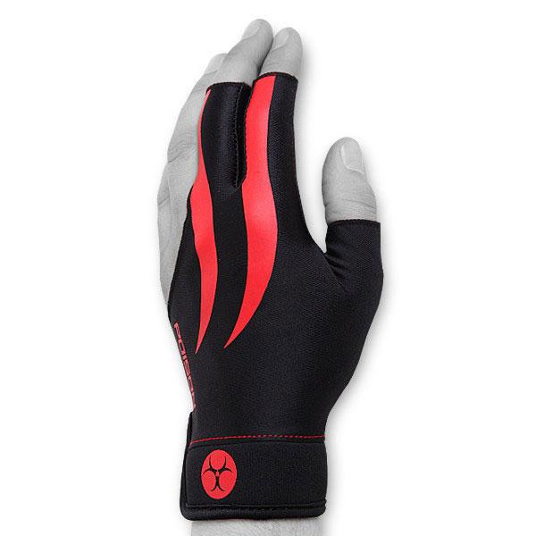 Перчатка для бильярда Poison, цвет: черный. Размер L/XL05109Бильярдная перчатка Poison гарантирует хорошее скольжение кия по руке. При этом вам не придется использовать тальк для рук. Выполнена из эластичного материала. Надевается на левую руку.