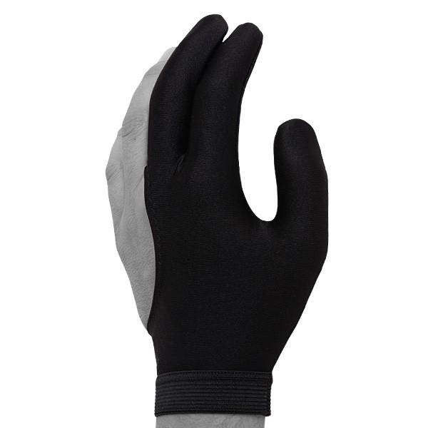 Перчатка для бильярда Skiba Classic, цвет: черный. Размер M/L05043Бильярдная перчатка Skiba Classic гарантирует хорошее скольжение кия по руке. При этом вам не придется использовать тальк для рук. Выполнена из эластичного материала. Подходит как для правой, так и для левой руки.
