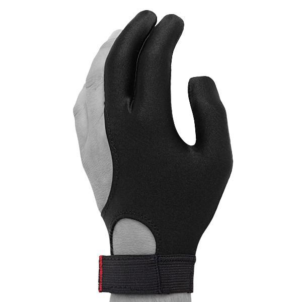 Перчатка для бильярда Skiba Classic Velcro, цвет: черный. Размер M/L04987Бильярдная перчатка Skiba Classic Velcro гарантирует хорошее скольжение кия по руке. При этом вам не придется использовать тальк для рук. Выполнена из эластичного материала. Перчатка оснащена застежкой Velcro, благодаря чему она крепко сидит на руке. Подходит для левой руки.