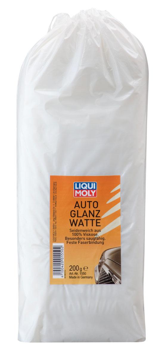 Вата для полировки Liqui Moly, 200 г1550Вата для полировки Liqui Moly - это специальная вискозная вата для полировки кузова автомобиля. Позволяет достичь высокого глянцевого эффекта, без дополнительных усилий. Не оставляет белесых следов и волокон на лакокрасочном покрытии кузова. Очень хорошо впитывает влагу. Высокая прочность волокон. Для удобства использования уложена в упаковке гармошкой. Вес: 200 г.