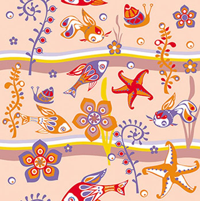 Дизайнерские обои КвикДекор Аквариум, песок матовый, цвет: розовый, 3 листа, 2,68 м х 2,7 мWP-13-0031-2-01-SnM-3PДизайнерские обои КвикДекор Аквариум - это бумажные обои на флизелиновой основе без ПВХ. Печать яркая насыщенная, произведена экологическими чистыми латексными чернилами (без запаха), не выцветает до 5 лет. Обои собираются из трех вертикальных полос. Рисунок не требует подгонки. Обои можно протирать влажной тряпкой. Такие обои позволят создать в детской комнате определенное настроение и даже несколько расширить оптический объем. Ваш ребенок получит массу удовольствий при созерцании яркого изображения. Размер обоев: 2,68 м х 2,7 м. Текстура обоев: матовый песок. Художник: Ирина Деревянченко.