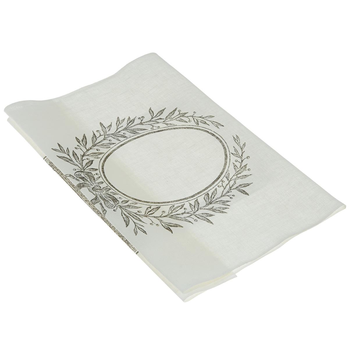 Основа для вышивания крестом или гладью Vaupel & Heilenbeck, с рисунком, цвет: белый, черный, 34 см х 63 см5157-340-90028Основа для вышивания крестом или гладью Vaupel & Heilenbeck представляет собой 11-ти ниточную дорожку, выполненную из 100% льна. Изделие декорировано изображением прямоугольной и круглой рамки с красивым обрамлением. Воплотите свои идеи на этой основе для вышивания! Дорожка, украшенная своими руками, дополнит интерьер любого помещения, а также сможет стать изысканным подарком для ваших друзей и близких.