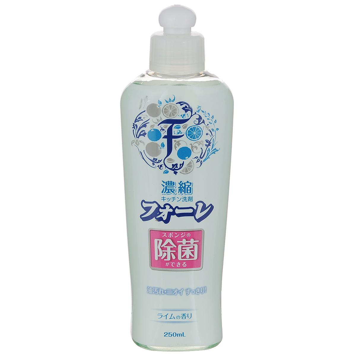 Средство для мытья посуды Kaneyo Faure, антибактериальное, лайм, 250 мл71514, 201026Средство Kaneyo Faure предназначено для мытья посуды, кухонной утвари и дезинфекции губок для мытья посуды. Имеет приятный аромат лайма. Эффективно очищает, обезжиривает и стерилизует посуду, удаляет масляные и прочие пищевые загрязнения. Обильная пена тщательно устраняет жир даже в холодной воде. Средство очень экономично, одной капли хватает на долго. Подходит для мытья овощей и фруктов. Мягко воздействует на кожу рук, не раздражая ее. Состав: ПАВ (30% натрий алкилбензолсульфонат), жирные кислоты алканоламид, полиоксиалкиленовые алкилэфира, стабилизатор. Товар сертифицирован. Размер бутылки: 19 см х 7 см х 4,5 см.