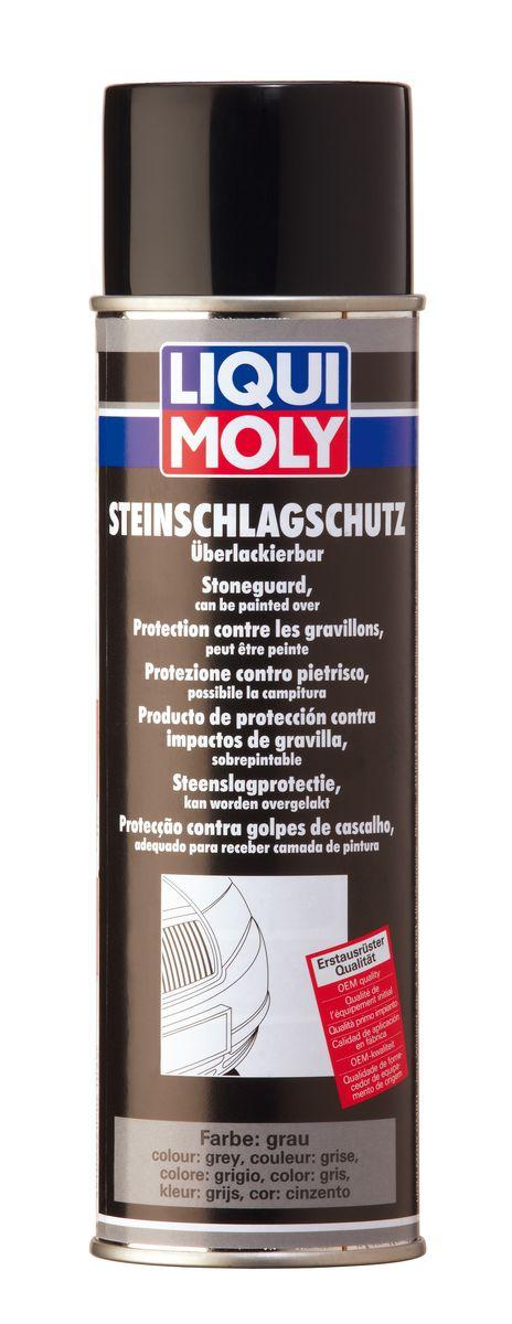 Антигравий Liqui Moly, цвет: серый, 500 мл6105Антигравий Liqui Moly - средство, образующее после высыхания плотное, эластичное покрытие, устойчивое к истиранию и обеспечивающее отличную антикоррозийную защиту. Защищает от ударов камней пороги, спойлеры бамперов, а также служит в качестве шумоизоляционного слоя. Допускается окраска еще невысохшего покрытия. Совместимо с ПВХ пластиками. При нанесении покрытия можно смешивать средство с краской до 30%, для придания ему цвета кузова. После нанесения можно окрашивать. Применение: для восстановления защитного покрытия и дополнительной защиты кузова от удара камней (в качестве антигравия), для задней и передней пластиковой обвески, спойлеров, порогов и т.д. При нанесении образует структурированную поверхность. После полного высыхания покрытие устойчиво против растворителей. Состав: предполимеры, полиуретаны, диметилэфир, ксилол, пропеллент СО2. Не содержит озоноразрушающих веществ. Товар сертифицирован.