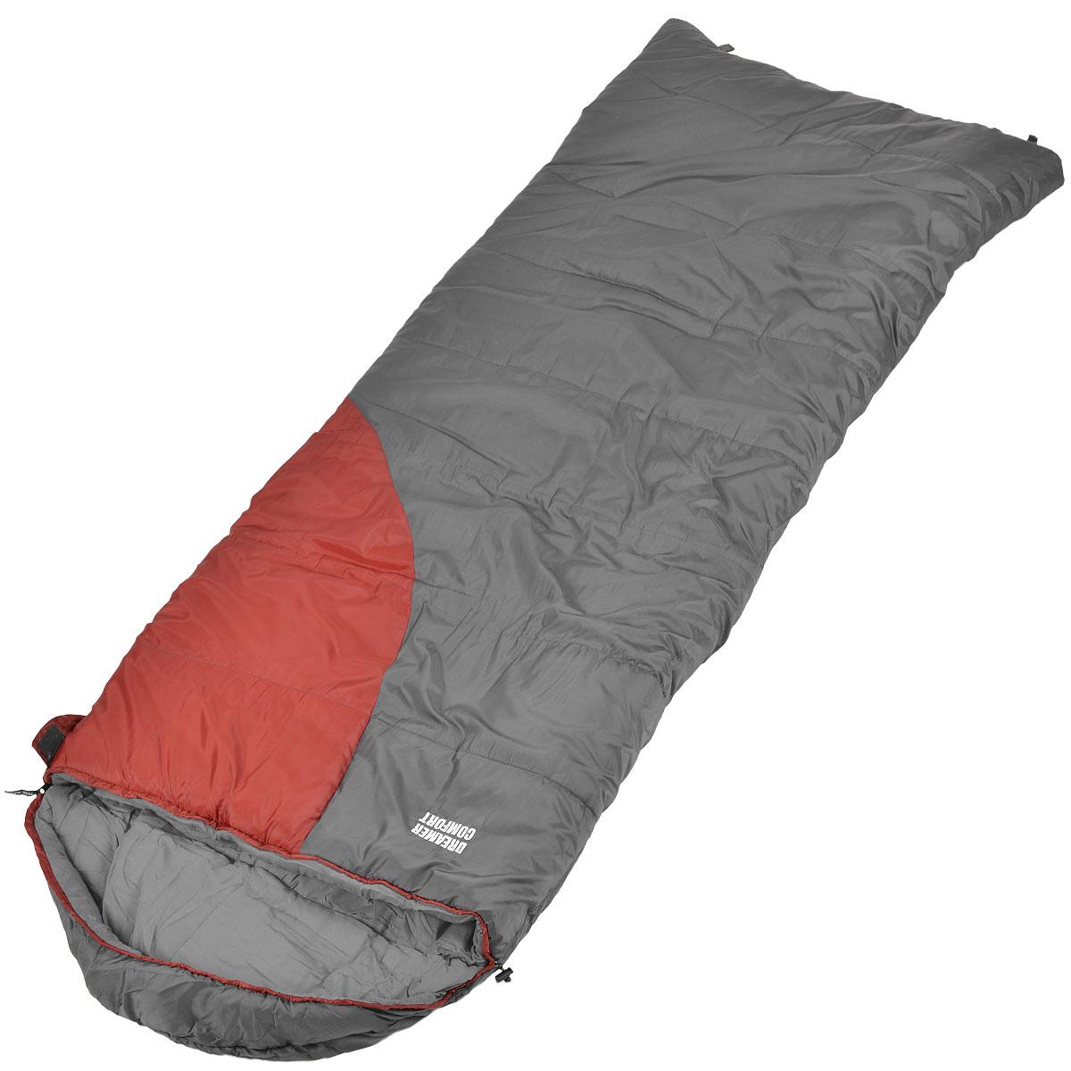 Спальник Trek Planet Dreamer Comfort, левосторонняя молния, цвет: темно-серый, бордовый70390-LКомфортный, просторный и очень теплый 3-х сезонный спальник-одеяло с капюшоном Trek Planet Dreamer Comfort предназначен для походов и для отдыха на природе не только в летнее время, но и в прохладные дни весенне-осеннего периода. В теплое время спальный мешок можно использовать как одеяло (в том числе и дома). К несомненным достоинствам спальника можно отнести его повышенную комфортность и размер: спальник подойдет для крупных и высоких туристов, а теплый капюшон согреет в холодные ночи. Особенности спальника: - увеличенная ширина спальника, - глубокий теплый капюшон, - 7-канальный наполнитель Hollow Fiber, - усиленный полиэстер RipStop, - внутренний материал - мягкий поликоттон, - термоклапан вдоль молнии, - возможно состегивание спальников между собой (левая и правая молнии). К спальнику прилагается компрессионный чехол для удобного хранения и переноски. t° комфорт: 1°C. t° лимит комфорта: -7°C. t° экстрим:...