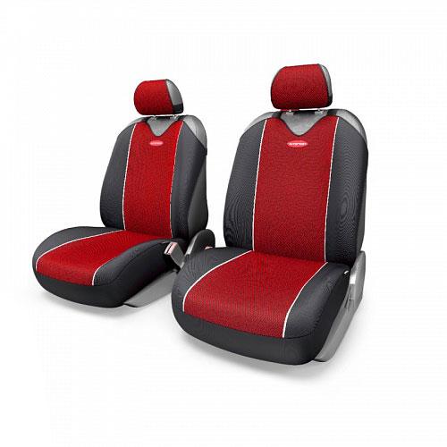 Чехлы-майки Autoprofi Carbon Plus, цвет: черный, красный, 4 предметаCRB-402Pf BK/RDМодель авточехлов-маек Autoprofi Carbon Plus, выполненных из полиэстера, отличается полностью закрытой нижней частью сидений, которая добавляет им практичности и износостойкости. При этом чехлы быстро и без усилий надеваются на кресла, не требуя демонтажа подголовников или подлокотников. Эластичный материал позволяет использовать чехлы на сиденьях любого типа. Визуально полиэстер изделий в точности повторяет переливающийся рисунок настоящего карбона и придает чехлам респектабельный вид. Для автомобиля, чей экстерьер или салон оснащены карбоновыми деталями, чехлы Autoprofi Carbon Plus являются наиболее гармоничным дополнением. Комплектация: 2 чехла кресел переднего ряда, 2 подголовника.