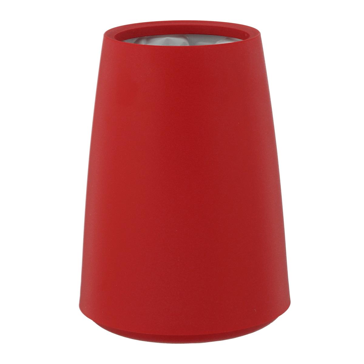 Ведерко-охладитель для бутылок VacuVin Rapid Ice Elegant, цвет: красный, 0,75 л3649160Элегантное ведерко-охладитель VacuVin Rapid Ice Elegant позволит вам мгновенно охладить вино без использования льда. Внутри пластиковой емкости находится многоразовый охлаждающий элемент, который охлаждает бутылку за несколько минут и сохраняет ее холодной часами. В ведерке-охладителе не используется ни лед, ни вода, поэтому на вашем столе не будет лужиц, а этикетка не размокнет и не отвалится. Храните охлаждающий элемент в морозилке. Объем: 0,75 л. Высота ведерка-охладителя: 12 см.