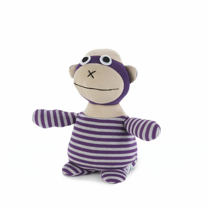 Мягкая игрушка-грелка Warmies Обезьянка Фланки, цвет: фиолетовыйSOC-MKY-1Мягкая игрушка-грелка Warmies Обезьянка Фланки, предназначенная для тепловых процедур, обязательно поднимет настроение своему обладателю. Грелка, выполненная из текстиля в виде забавной полосатой обезьянки, привлечет внимание не только ребенка, но и взрослого, и сделает процесс использования грелки приятным и комфортным. Игрушка полностью безопасна - состоит из натурального наполнителя: зерен проса и сушеной лаванды. Просо удерживает тепло долгое время, а лаванда обладает успокаивающим, расслабляющим эффектом, помогает заснуть. Лечебные свойства лаванды помогают при простудных заболеваниях. Положите игрушку на 1-2 минуты в микроволновую печь, и она будет греть вас на протяжении 3-4 часов. Оригинальный стиль и великолепное качество исполнения делают эту игрушку-грелку чудесным подарком к любому празднику. Не стирать, протирать влажной тряпкой. Наполнитель: обработанные зерна проса, высушенная лаванда. Для детей от 3-х лет.