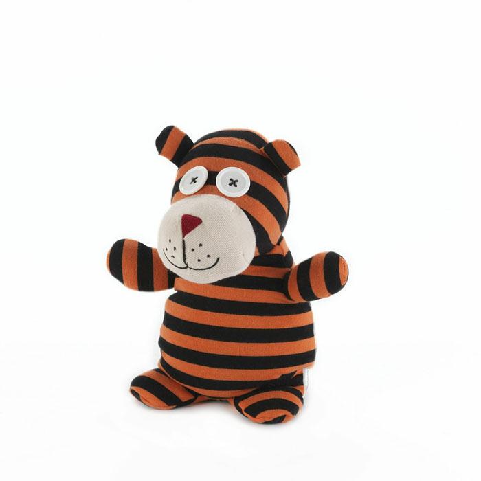 Мягкая игрушка-грелка Warmies Тигр Тедди, цвет: рыжий, черныйSOC-TIG-1Мягкая игрушка-грелка Warmies Тигр Тедди, предназначенная для тепловых процедур, обязательно поднимет настроение своему обладателю. Грелка, выполненная из текстиля в виде забавного полосатого тигра, привлечет внимание не только ребенка, но и взрослого, и сделает процесс использования грелки приятным и комфортным. Глаза у тигра выполнены из пластика, в виде пуговиц. Игрушка полностью безопасна - состоит из натурального наполнителя: зерен проса и сушеной лаванды. Просо удерживает тепло долгое время, а лаванда обладает успокаивающим, расслабляющим эффектом, помогает заснуть. Лечебные свойства лаванды помогают при простудных заболеваниях. Положите игрушку на 1-2 минуты в микроволновую печь, и она будет греть вас на протяжении 3-4 часов. Оригинальный стиль и великолепное качество исполнения делают эту игрушку-грелку чудесным подарком к любому празднику. Не стирать, протирать влажной тряпкой. Наполнитель: обработанные зерна проса, высушенная...