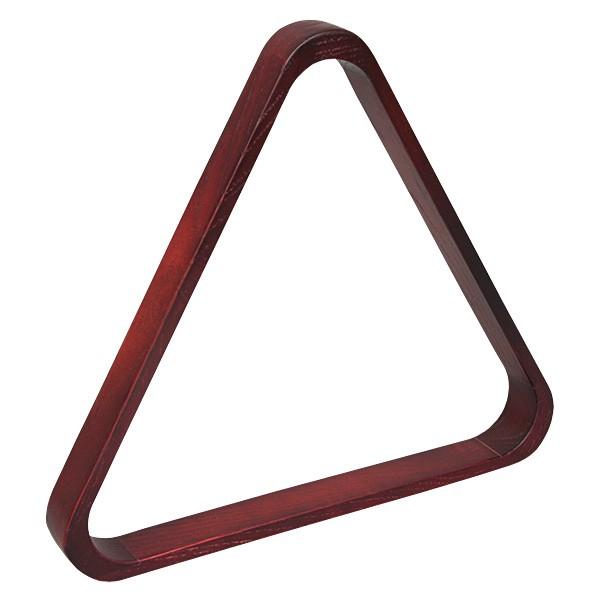 Треугольник для бильярда Skiba Classic, цвет: коричневый, красный, диаметр шаров 68 мм06230Треугольник - это один из обязательных аксессуаров для игры в бильярд. Skiba Classic предназначен для игры в русскую пирамиду при условии использования оборудования стандартных размеров (диаметр шаров 68 мм). Изготовленный из массива дуба, этот аксессуар ненавязчиво подчеркнет единство оформления бильярдной комнаты в классическом стиле.