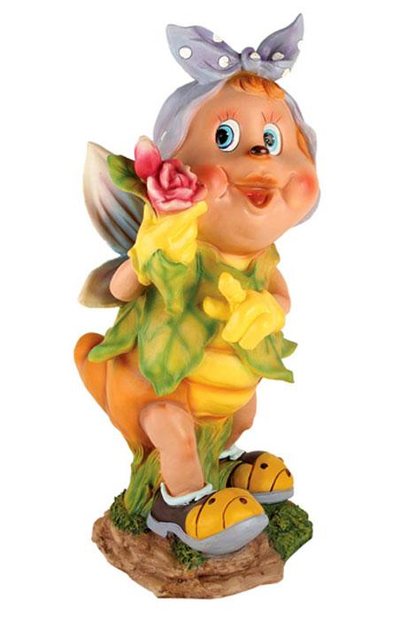 Декоративная фигурка Korall Бабочка с розой, высота 52 см. NF11289-4816442Декоративная фигурка Korall, изготовленная из пластика, выполнена в виде забавной бабочка с розой. Такая фигурка отлично подойдет для декоративного оформления вашего сада или дома. Декоративные фигурки для украшения способны придать участку или интерьеру собственный, ни на что не похожий образ. Кроме этого, веселые и незатейливые фигурки поднимут настроение вам, вашим друзьям и родным. Размер фигурки (ДхШхВ): 27 см х 26 см х 52 см.