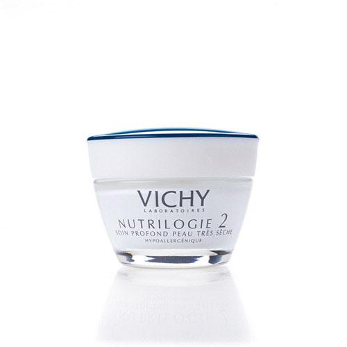 Vichy Крем-уход глубокого действия для очень сухой кожи Nutrilogie 2, 50 мл7011011Действует на первопричину сухости кожи. Восстанавливает барьерные свойства эпидермиса за счёт повышения уровня синтеза кожей собственных керамидов и липидов. Устраняет ощущение стянутости. Увлажняет, питает, смягчает, ухаживает за очень сухой кожей. Защищает от неблагоприятных внешних воздействий, в том числе от обветривания о обмораживания. Кожа сухого типа начинает чувствовать себя более комфортно. Протестировано на чувствительной коже. Подходит в качестве основы под макияж.