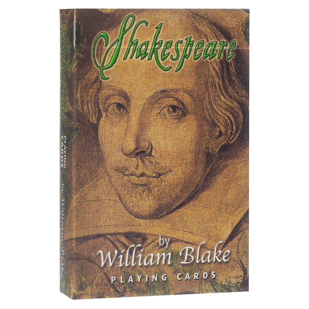 Карты игральные коллекционные Piatnik Шекспир, цвет: белый, 55 карт. 14651465