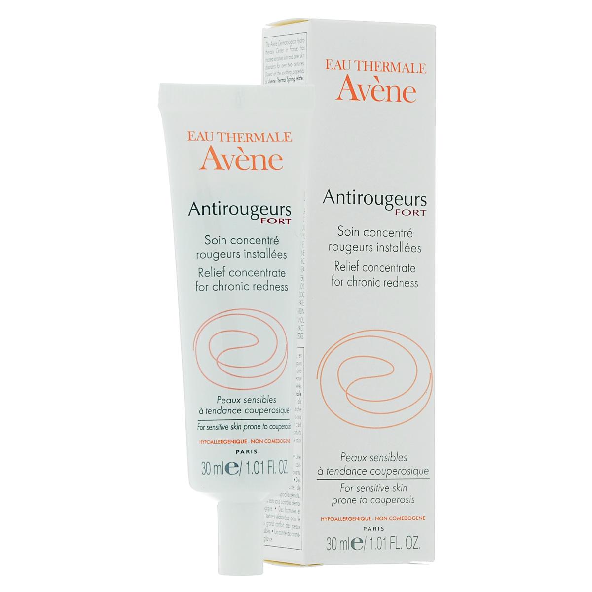 Avene Крем от купероза Anti-rougeurs Плюс для лица и тела 30 млC31074Уменьшает выраженность капиллярной сеточки, успокаивает кожу, подавляет неоангиогенез, зеленоватый цвет крема позволяет скрыть красноту кожи. Лечебное средство для чувствительной кожи с локальным покраснениям и с заметной капиллярной сеточкой