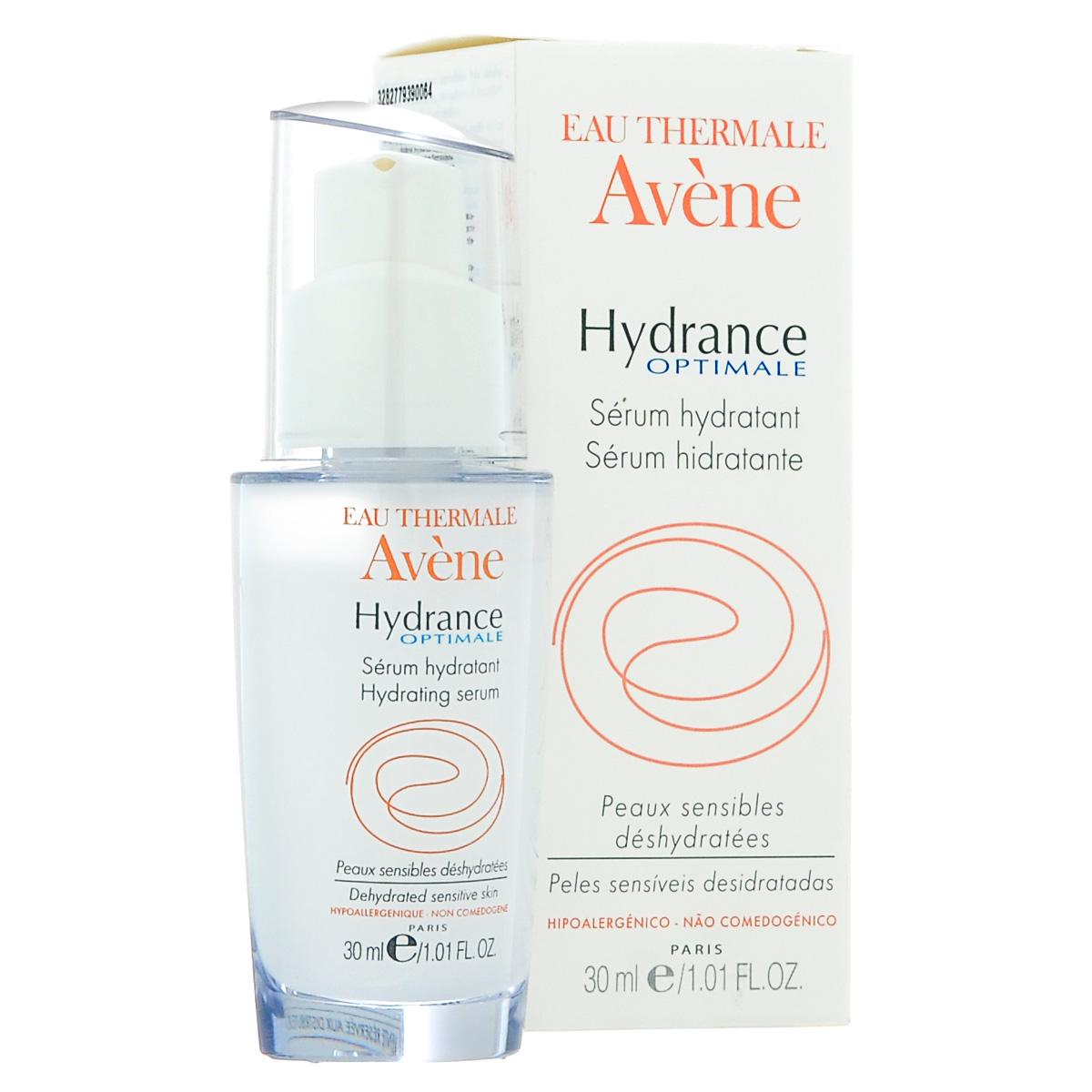 Avene Увлажняющая сыворотка для лица Hydrance 30 млC47873Сыворотка поддерживает оптимальный уровень увлажненности, так как удерживает воду в поверхностных слоях кожи благодаря гелеобразной 3D формуле образующейся из полимеров морского происхождения. Обепечивает глубокое и интенсивное увлажнение чувствительной кожи, успокаивает и снимает раздражение, благодаря успокаивающим и снимающим раздражение свойствам Термальной воды Avеne.