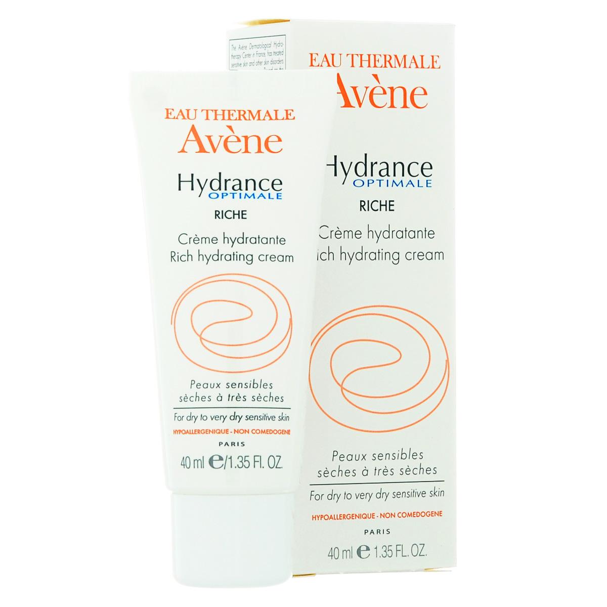 Avene Крем увлажняющий Hydrance ОПТИМАЛЬ РИШ для сухой кожи лица 40мл