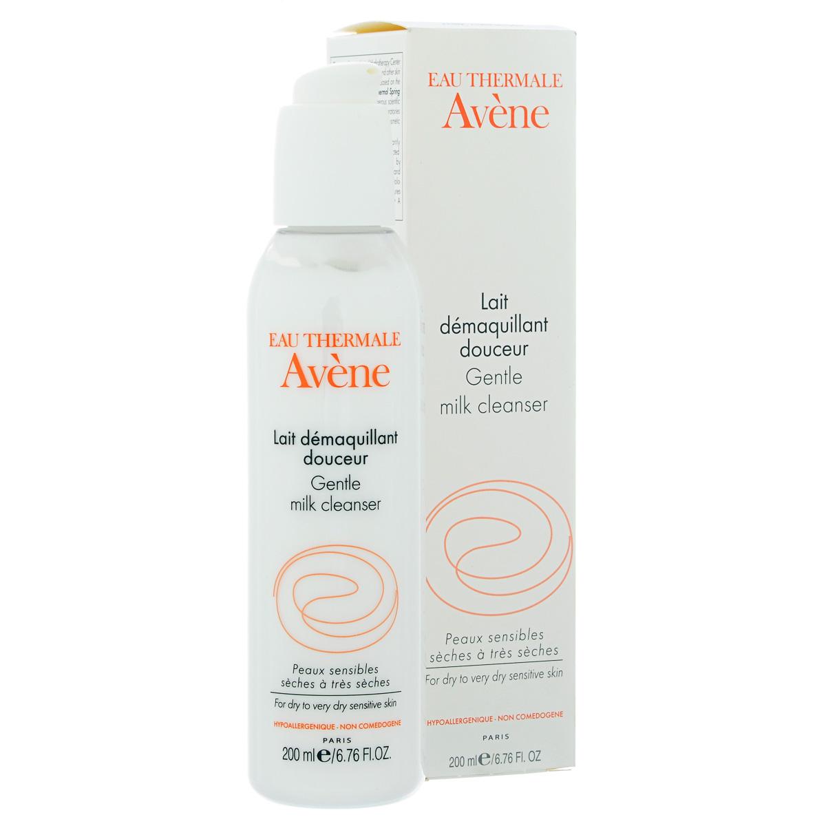 Avene Мягкое очищающее молочко Sensibles 200 млC05151Эффективно удаляет макияж и загрязнения с лица, глаз и губ придает коже мягкость и эластичность. Подходит для снятия макияжа для сухой и очень сухой чувствительной кожи