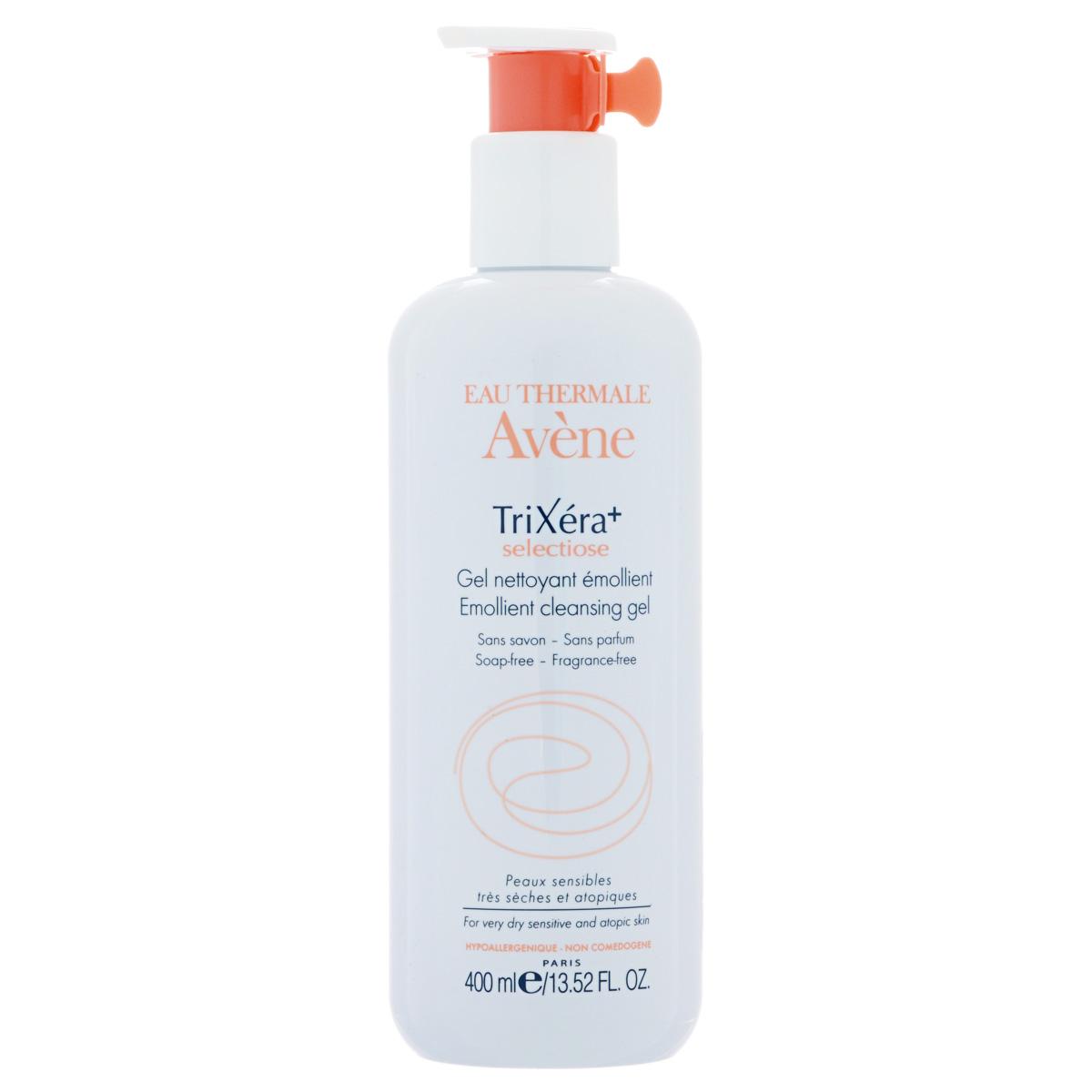 Avene Очищающий гель TriXera+Selectiose для лица и тела 400 млC17862Мягко очищает и смягчает кожу, способствует восстановлению защитного барьера кожи, нейтрализует раздражающее и пересушивающее действие водопроводной воды.