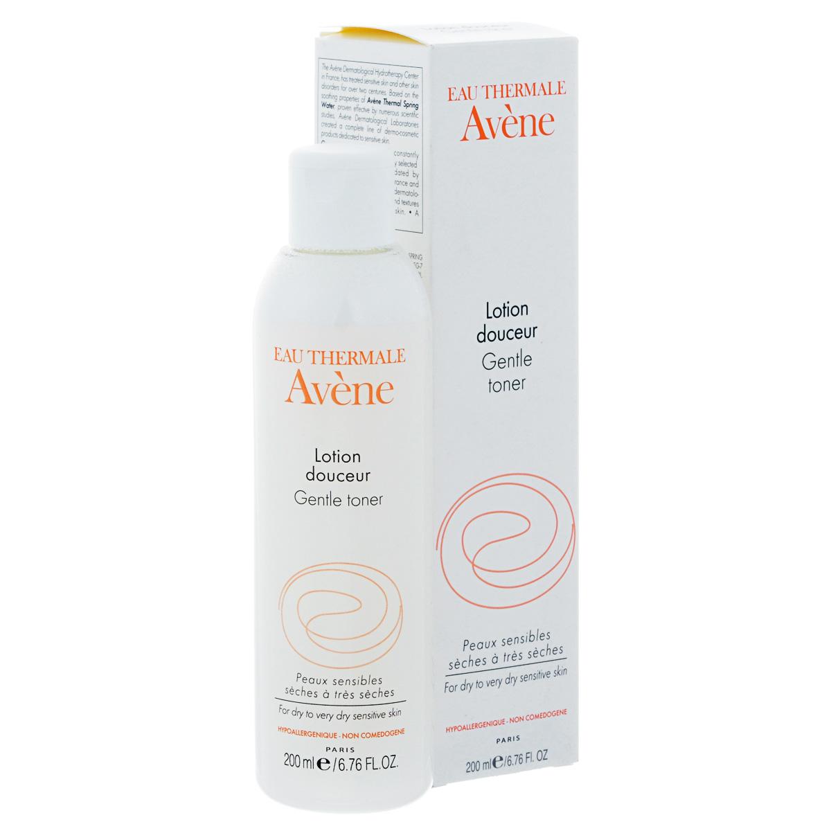 Avene Мягкий лосьон Sensibles длдя лица 200 млC05149Средство для очищения сухой и очень сухой чувствительной кожи.Очищает кожу успокаивает и защищает от агрессивных внешних воздействий, образуя на коже нежнейшую защитную пленку.
