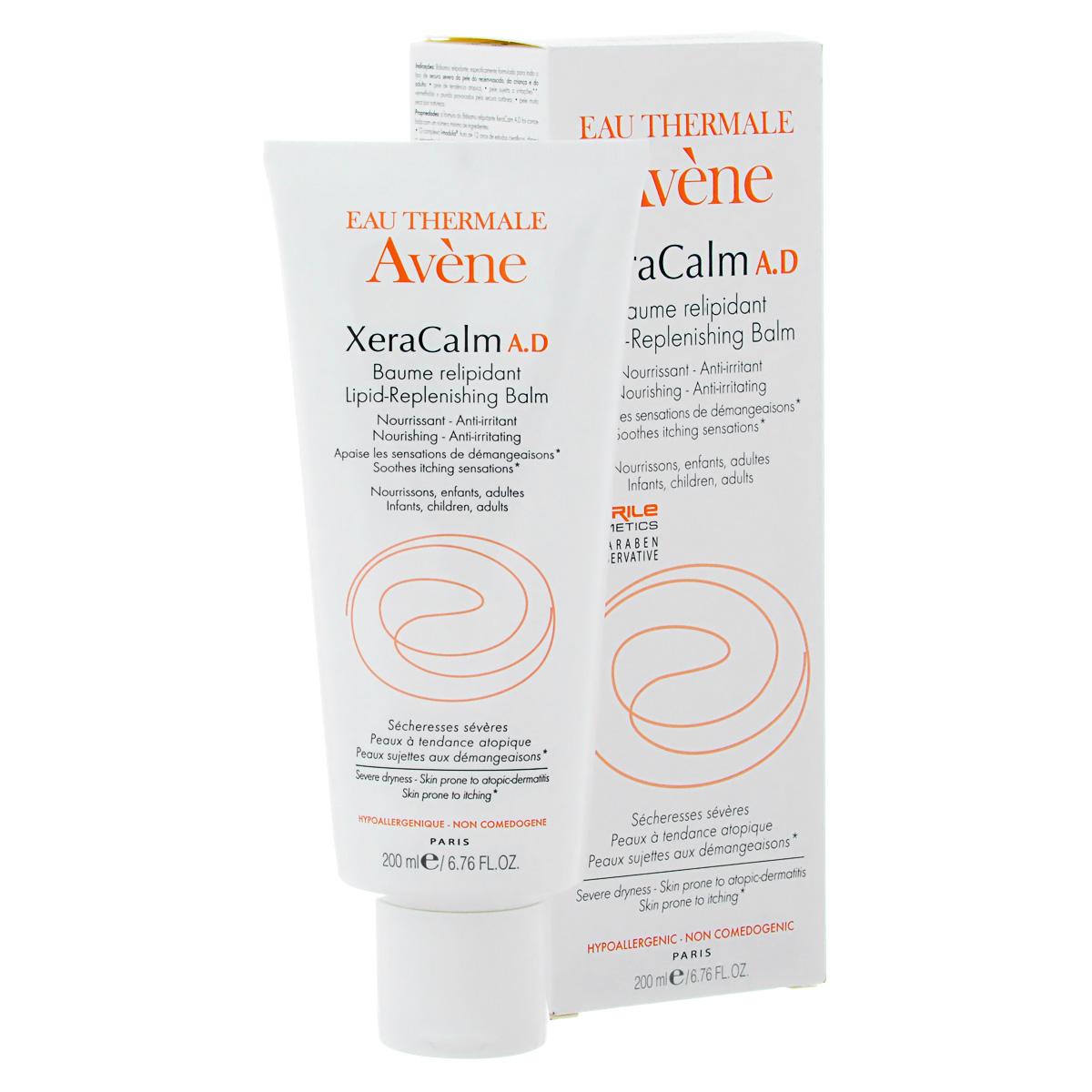 Avene Бальзам липидо-восполняющий Xeracalm A.D. для лица и тела200 млC44895Бальзам липидо-восполняющий питает очень сухую кожу, снимает раздражение и воспаление. Уменьшает зуд, вызванный сухостью, и восстанавливает гидролипидный барьер. Инновационная запатентованная биотехнологичная формула - I-modulia® Оказывает направленное мощное воздействие: - снимает зуд - снимает воспаление - повышает естественный иммунитет кожи - Смягчает, восстанавливает гидролипидный барьер При атопическом дерматите и выраженной сухости кожи. Эффективен уже с 1-го месяца применения.